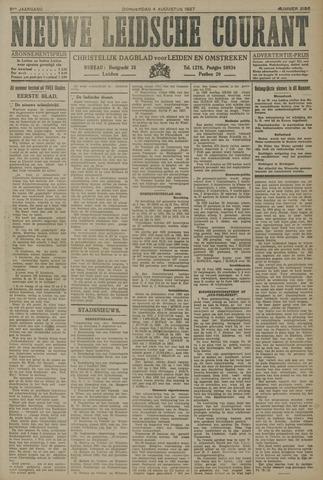 Nieuwe Leidsche Courant 1927-08-04