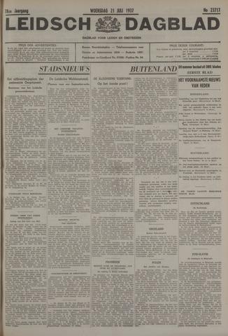 Leidsch Dagblad 1937-07-21