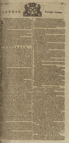 Leydse Courant 1755-01-10