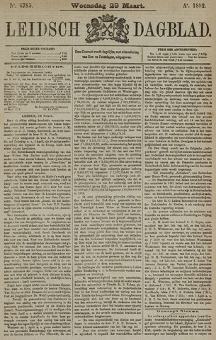 Leidsch Dagblad 1882-03-29