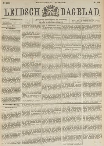 Leidsch Dagblad 1894-12-27