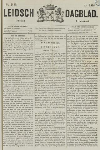 Leidsch Dagblad 1868-02-04