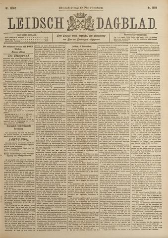 Leidsch Dagblad 1899-11-09