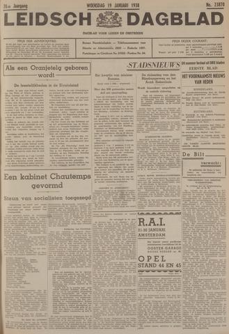 Leidsch Dagblad 1938-01-19