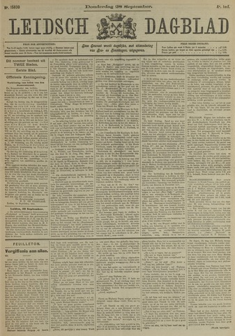 Leidsch Dagblad 1911-09-28