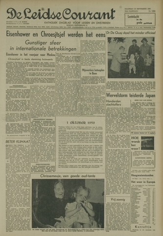 Leidse Courant 1959-09-28