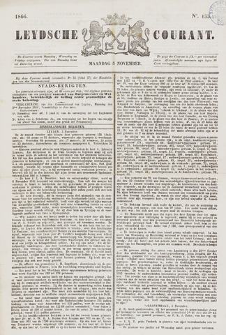 Leydse Courant 1866-11-05