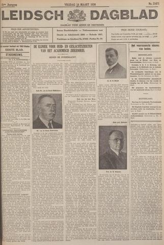 Leidsch Dagblad 1930-03-14