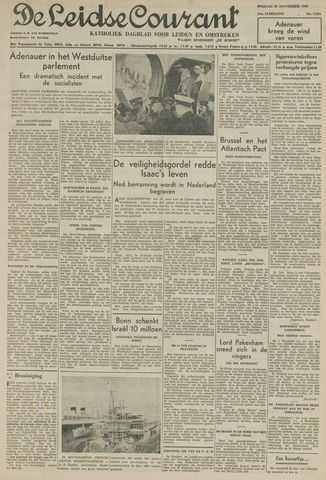 Leidse Courant 1949-11-25