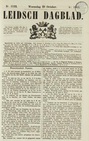 Leidsch Dagblad 1863-10-28