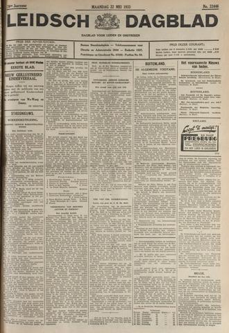 Leidsch Dagblad 1933-05-22