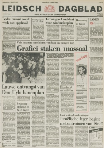 Leidsch Dagblad 1982-03-03
