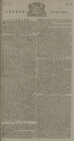 Leydse Courant 1739-06-26