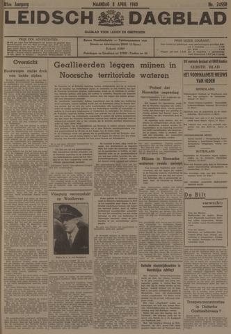 Leidsch Dagblad 1940-04-08