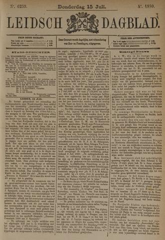 Leidsch Dagblad 1880-07-15