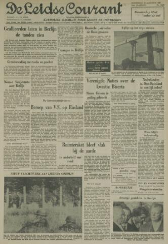 Leidse Courant 1961-08-24