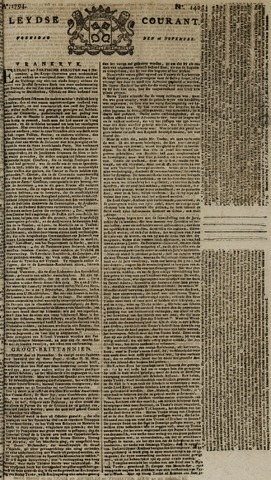 Leydse Courant 1794-11-26