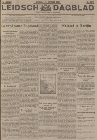 Leidsch Dagblad 1940-11-13