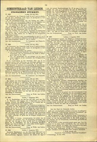 Handelingen van de Raad 1911-07-24