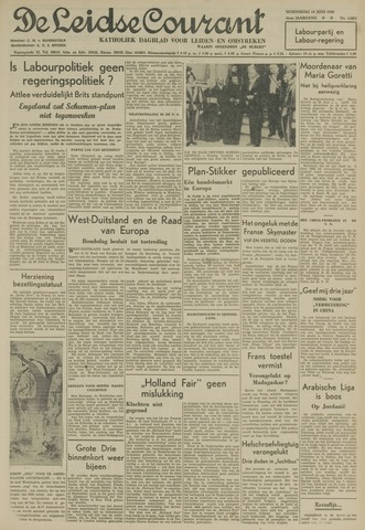 Leidse Courant 1950-06-14