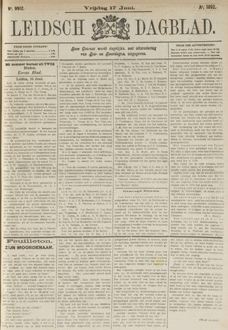 Leidsch Dagblad 1892-06-17