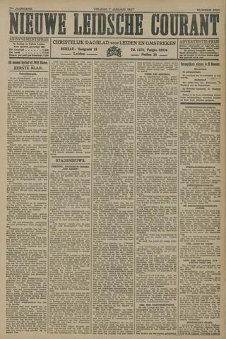 Nieuwe Leidsche Courant 1927-01-07