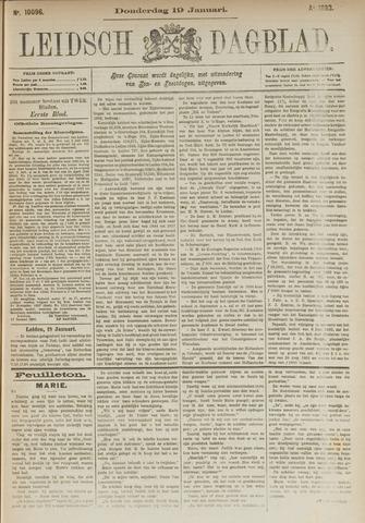 Leidsch Dagblad 1893-01-19