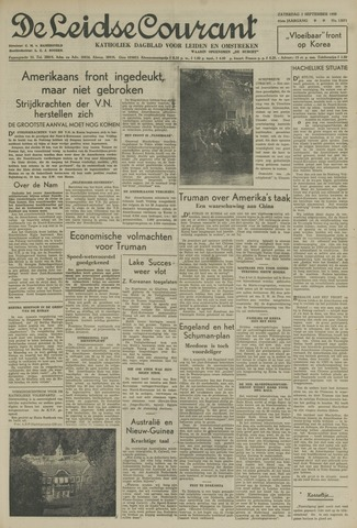 Leidse Courant 1950-09-02