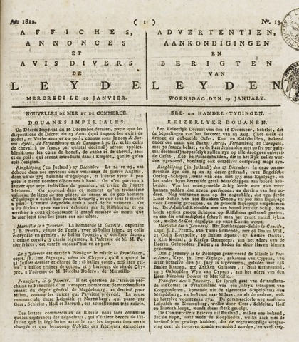 Leydse Courant 1812-01-29