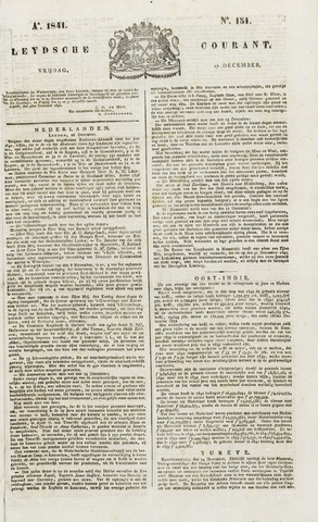 Leydse Courant 1841-12-17