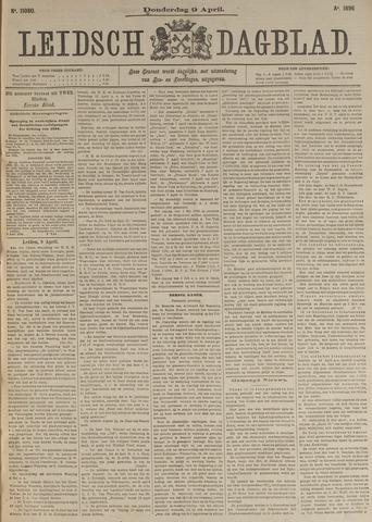 Leidsch Dagblad 1896-04-09