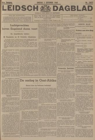 Leidsch Dagblad 1940-09-03
