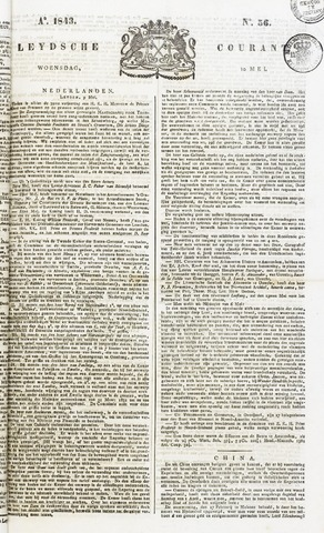 Leydse Courant 1843-05-10