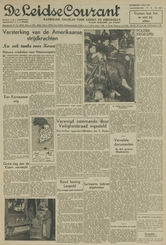 Leidse Courant 1950-07-08