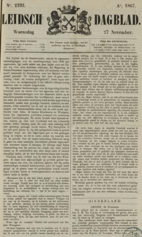 Leidsch Dagblad 1867-11-27