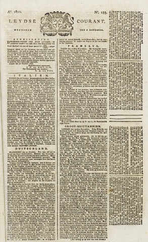 Leydse Courant 1822-11-06