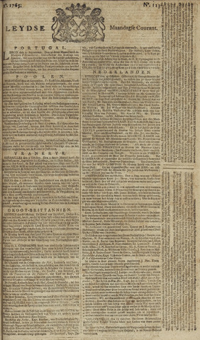 Leydse Courant 1765-10-14