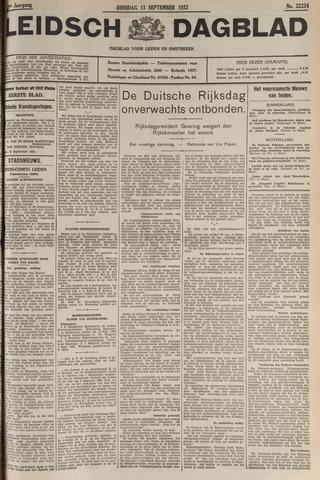Leidsch Dagblad 1932-09-13