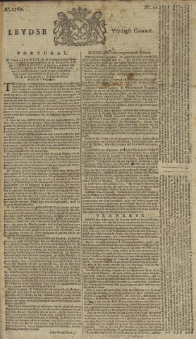 Leydse Courant 1760-01-25