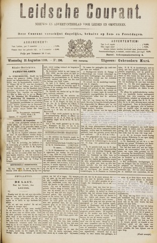 Leydse Courant 1889-08-21