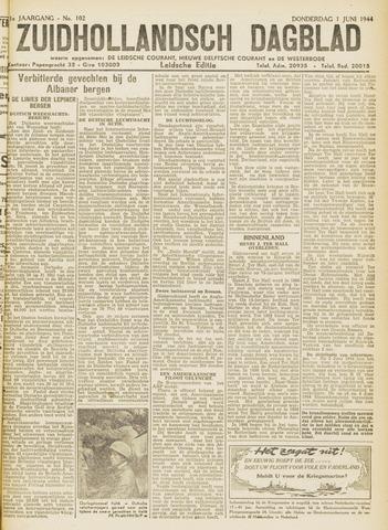 Zuidhollandsch Dagblad 1944-06-01