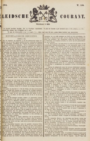 Leydse Courant 1884-05-09