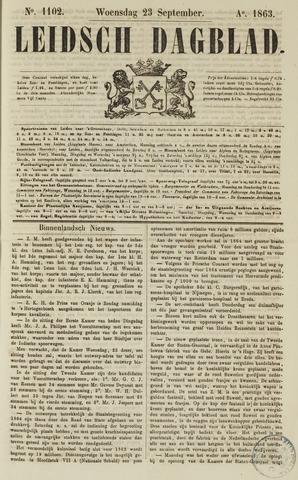 Leidsch Dagblad 1863-09-23