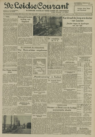 Leidse Courant 1948-02-12