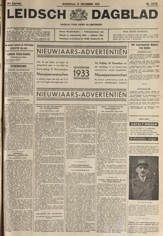 Leidsch Dagblad 1932-12-21