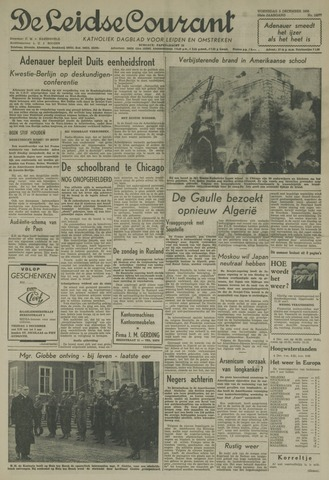 Leidse Courant 1958-12-03
