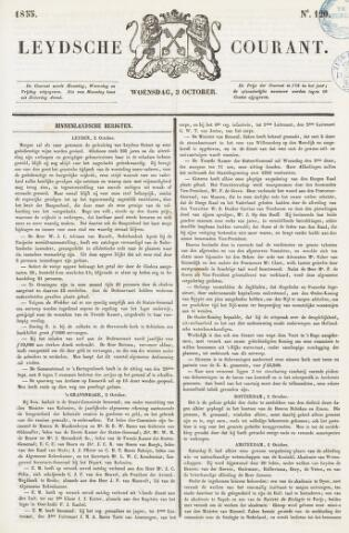 Leydse Courant 1855-10-03