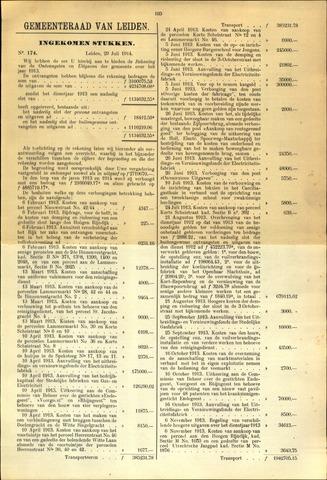 Handelingen van de Raad 1914-07-29