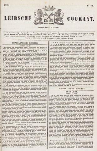 Leydse Courant 1877-04-05