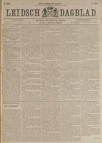 Leidsch Dagblad 1896-04-15
